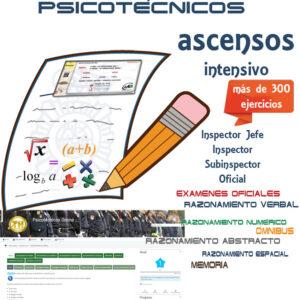 Curso de Psicotécnicos Online (4 MESES) – ACCESO/ASCENSO POLICÍA NACIONAL